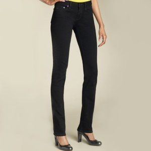 Marc Jacobs Chrissie 003 Black Skinny Leg Jeans 28